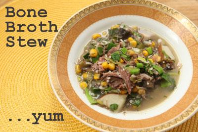 bone broth stew